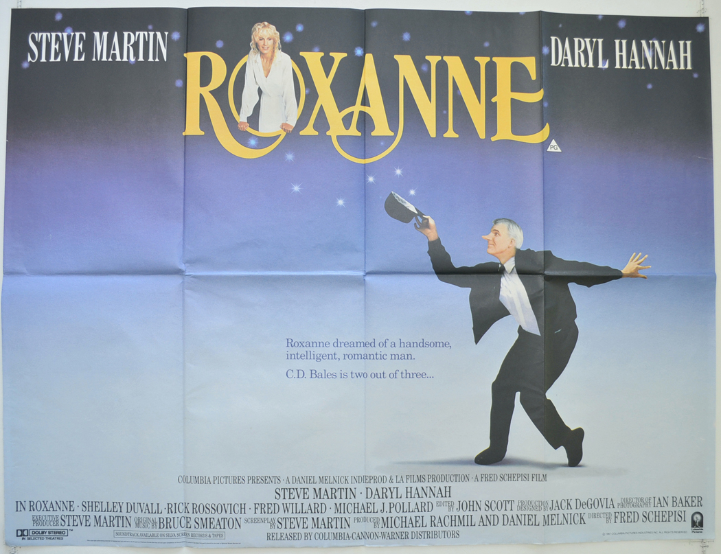 roxanne - cinema quad movie poster (1).jpg - GeekForce ...